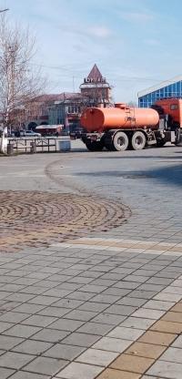 очистка площади