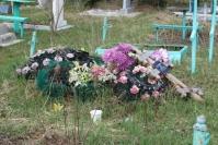кладбище уборка